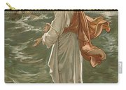 Christ Walking On The Waters Carry-all Pouch
