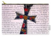 Christian  Cross Carry-all Pouch by Cynthia Amaral