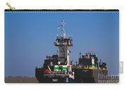 Christiana Oil Tanker Sitting In Galveston Tx Carry-all Pouch