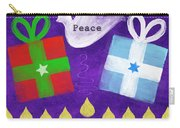 Christmas And Hanukkah Peace Carry-all Pouch
