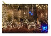 Christmas Carriages Carry-all Pouch by DigiArt Diaries by Vicky B Fuller