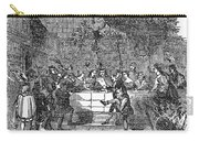 Christmas Feast, 1838 Carry-all Pouch