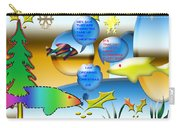 Christmas Fish Tank Carry-all Pouch