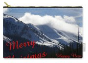 Christmas In The Mountains Carry-all Pouch