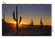 Christmas Morning In Arizona  Carry-all Pouch