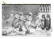 Christmas: Polar Bears Carry-all Pouch by Granger