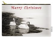 Christmas Swans 2367 Carry-all Pouch