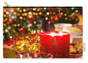 Christmas Table Set Carry-all Pouch by Carlos Caetano