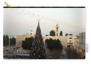 Christmas Tree In Manger Square Bethlehem Carry-all Pouch