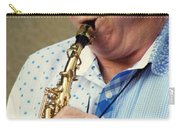Christopher Mason Alto Sax Player Carry-all Pouch