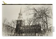 Christs Church Philadelphia In Sepia Carry-all Pouch