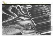 Chrome Piano Man Carry-all Pouch