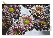 Chrysanthemum 3 Carry-all Pouch by Skip Nall