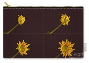 Chrysanthemum Blooming Sequence Carry-all Pouch