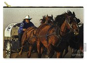 Rodeo Chuckwagon Racer Carry-all Pouch