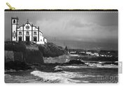 Church By The Sea Carry-all Pouch by Gaspar Avila