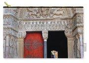 Church Entrance Arles France Carry-all Pouch