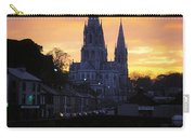Church In A Town, Ireland Carry-all Pouch