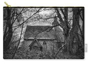 Church In The Woods Carry-all Pouch by Dave Godden