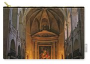 Church Interior Dordogne France Carry-all Pouch