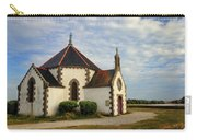Church Off The Brittany Coast Carry-all Pouch