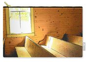 Church Pews - Light Through Window Carry-all Pouch