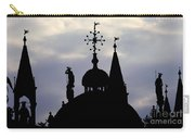 Church Spires Silhouettes Carry-all Pouch