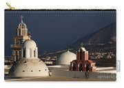 Churches In Fira Greece Carry-all Pouch