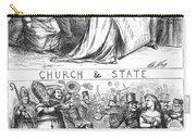 Church/state Cartoon, 1870 Carry-all Pouch
