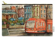 Cincinnati Streetcar Carry-all Pouch