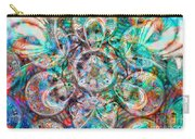 Circles Of Life Carry-all Pouch by Mo T