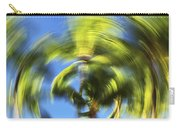 Circular Palm Blur Carry-all Pouch