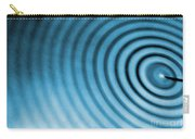 Circular Ripples Carry-all Pouch