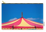 Circus Tent Top  Carry-all Pouch