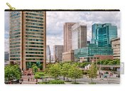 City - Baltimore Md - Harbor Place - Baltimore World Trade Center  Carry-all Pouch