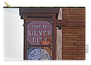 City Clock In Silver City Nm Carry-all Pouch