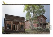 City Drug Store And Hotel Meade - Bannack Montana Ghost Town Carry-all Pouch
