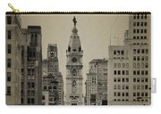City Hall From North Broad Street Philadelphia Carry-all Pouch