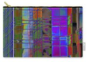 City Windows Abstract Pop Art Colors Carry-all Pouch