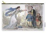Civil War Cartoon Carry-all Pouch