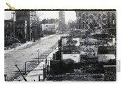 Civil War Damaged Charleston South Carolina - Meeting Street - C 1865 Carry-all Pouch
