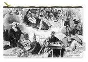 Civil War: Women, 1862 Carry-all Pouch