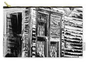 Clapboards And Lace Carry-all Pouch