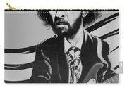 Clapton In Black And White Carry-all Pouch