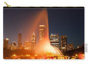 Clarence Buckingham Memorial Fountain Carry-all Pouch