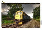 Class 33 At Bishop Auckland Carry-all Pouch