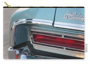 Classic Car Aqua Holiday Carry-all Pouch