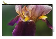 Classic Purple Two-tone Dutch Iris Carry-all Pouch