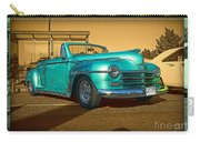 Classic Teal Convertible Carry-all Pouch