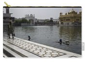 Clearing The Sarovar Inside The Golden Temple Resorvoir Carry-all Pouch